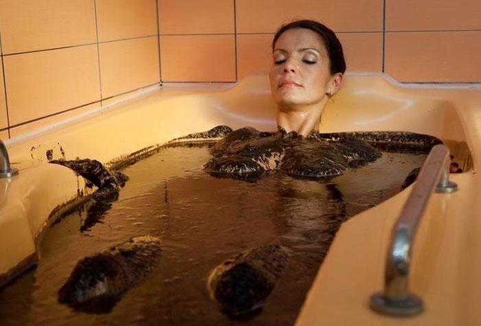 грязьові ванни фото