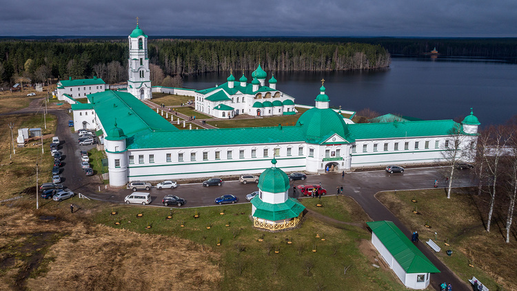 Святыни Приладожья:  Александро-Свирский и Введено-Оятский монастырь