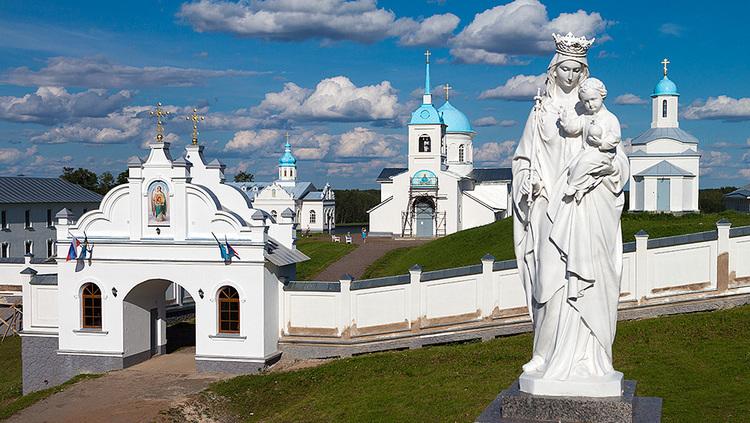 Благословенный край:  Покрово-Тервенический монастырь - Акулова Гора