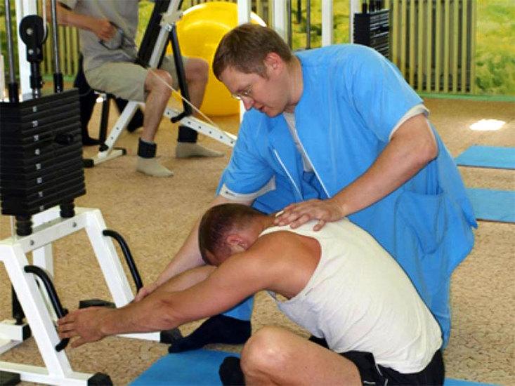 Кинезитерапия - избавьтесь от боли в спине и других зонах! Санаторий Новый Источник