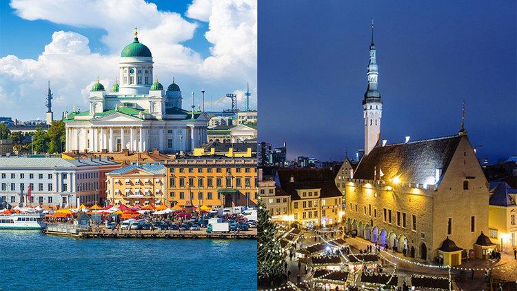 Две жемчужины Балтийского моря. Хельсинки - Таллинн